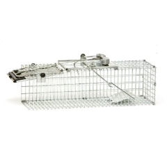 Havahart Rat Trap - steel cage with sprung loaded door