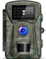 Front view of the APEMAN trail camera