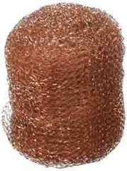 Ball of copper mesh